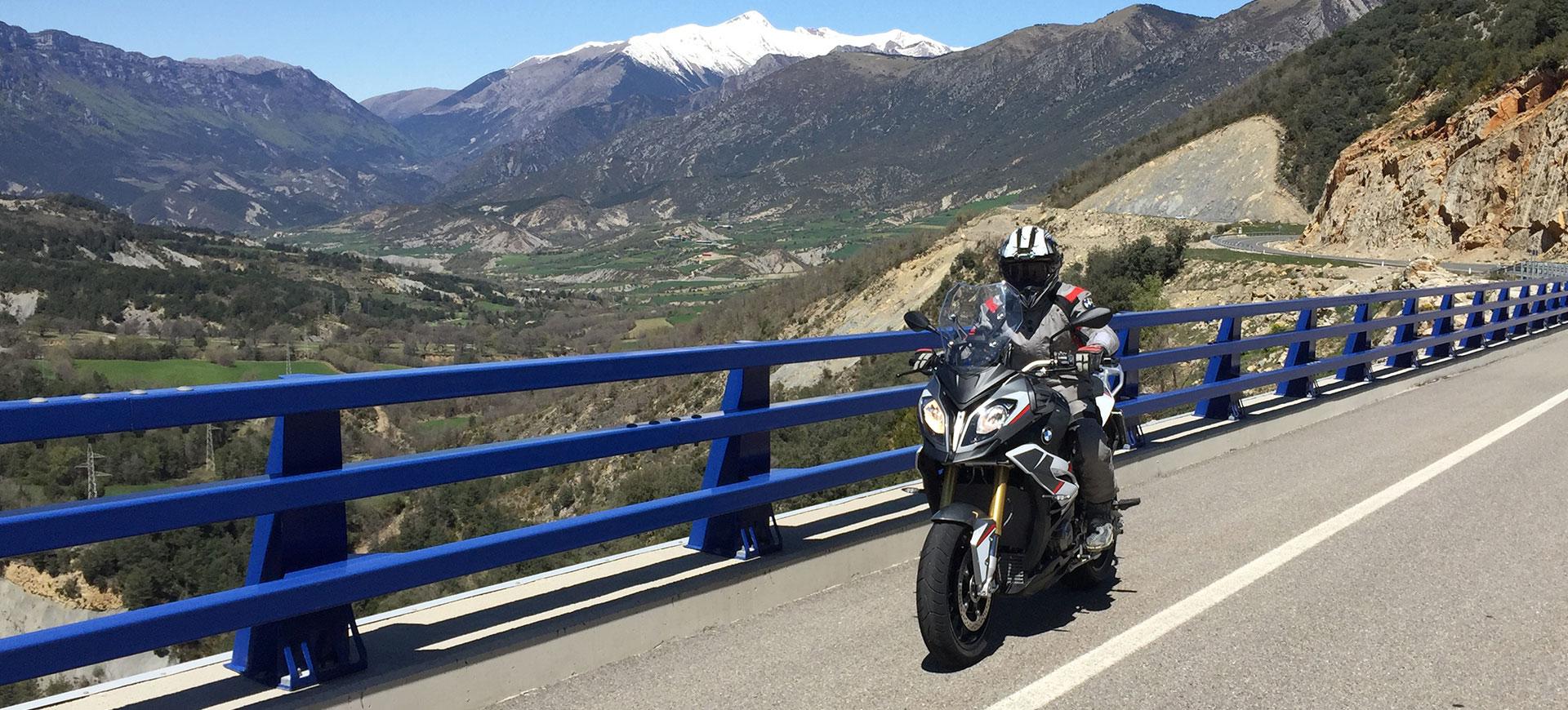 Motorradurlaub spanische Pyrenäen