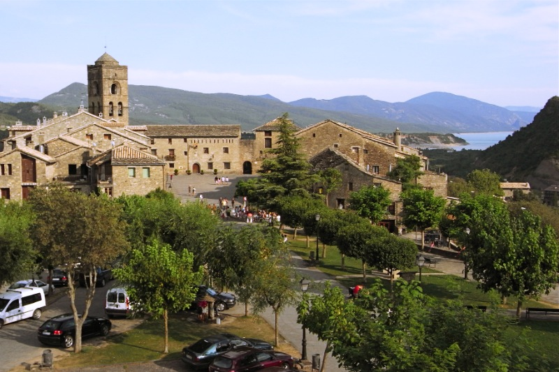Enjoy the tranquil and peaceful village Ainsa in Spain.