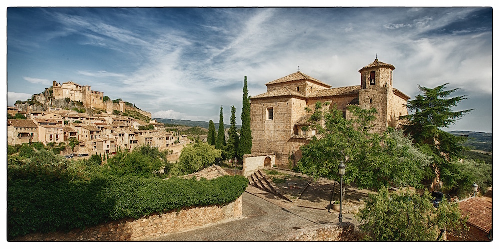 Alquezar - beautiful old traditional village in the province Huesca