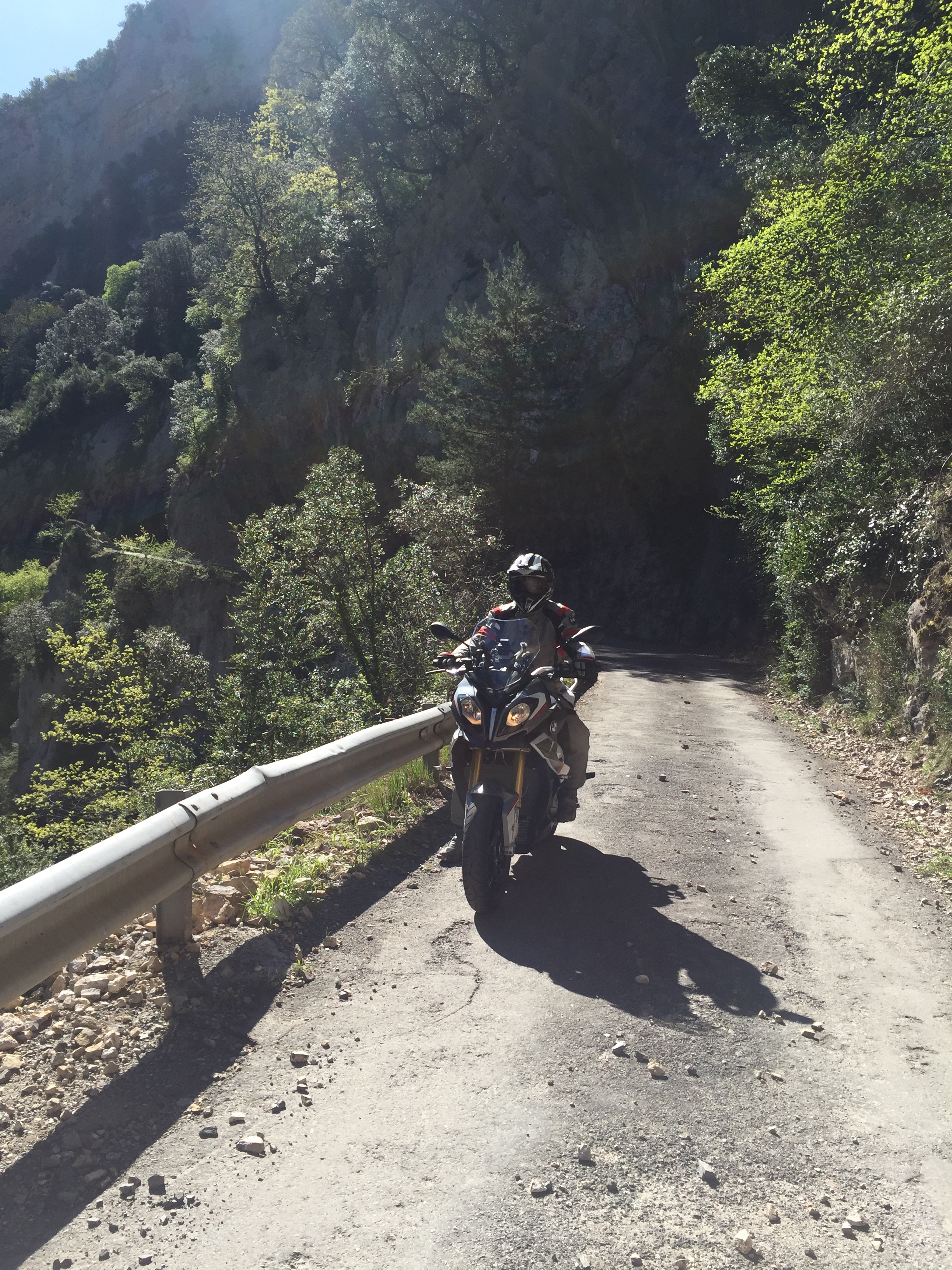 Die Anisclo Schlucht in den spanischen Pyrenäen