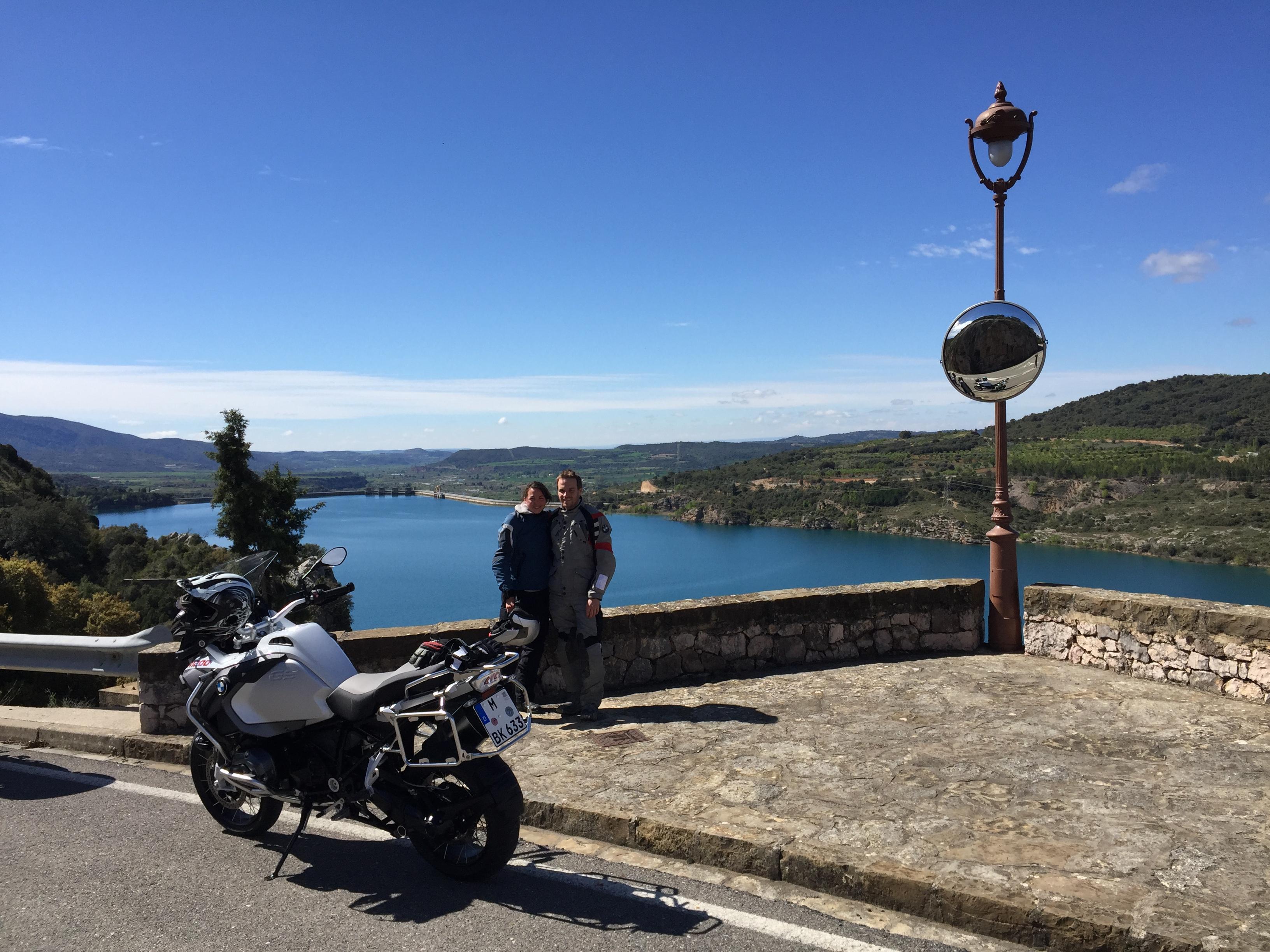 Motorradtouren in den spanischen Pyrenäen